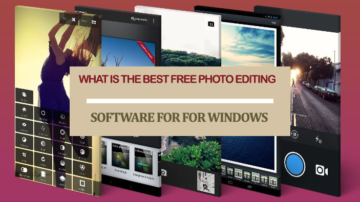 What is the best free photo editing software for Windows 10?