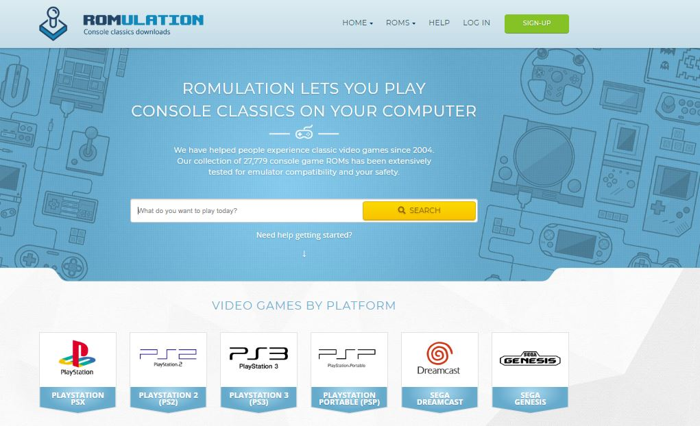 RomUlation - Best Website for ROMs
