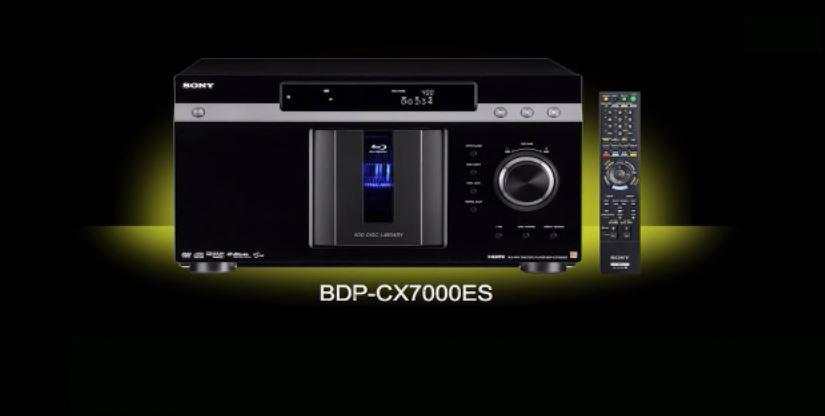 Sony BDP CX7000ES review